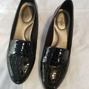 New black loafers